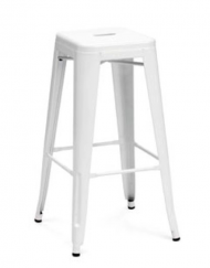 Occasions White Metal Bar Stool