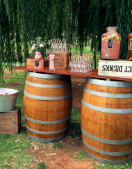 Occasions Wine Barrel Bar