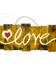 Occasions Wooden Love Sign